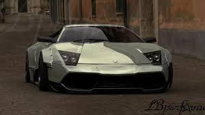 Lamborghini Murcielago Widebody - lamborghini murcielago with brushed aluminum wide body kit