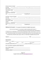 printable medical form dental medical records release medical
