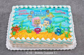 Bubble Guppies Decorations The Cake Gallery