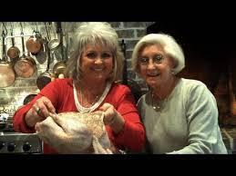 paula deen fries a thanksgiving turkey