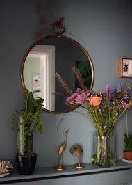 vintage bohemian eclectic style hallway interiors farrow ball oval