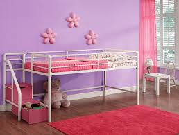 Girls Pink Rug Bedroom Astounding Jr Loft Bed With Mini Rug And Laminate Floor