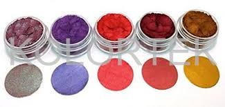 color wheel paint and coatings chameleon metallic powder pigments