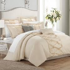 24 Piece Comforter Set Queen Bedroom Chic Home Aida 24 Piece Comforter Sets Queen In Blue For
