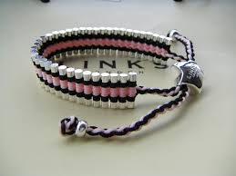 black thread bracelet images Trap cut links of london friendship bracelet black and pink jpg