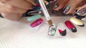 easy cnd shellac bubble nail art u0026 additives youtube