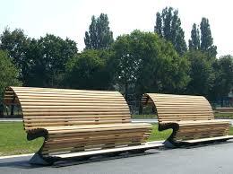 Wooden Garden Furniture Plans Wood Garden Benchcurved Timber Bench Curved U2013 Ammatouch63 Com
