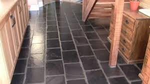Best Way To Clean A Slate Floor by Black Slate Floor Tiles M2ts Youtube