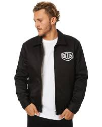 deus ex machina workwear jacket black surfstitch surfstitch