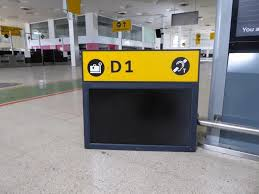 check in desk sign airport check in desk sign and monitor d1 price estimate