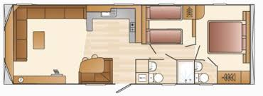 devon luxury caravans layout woodovis park