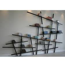 Modern Wall Bookshelves Elegant Unusual Wall Shelves 44 For Best Interior With Unusual