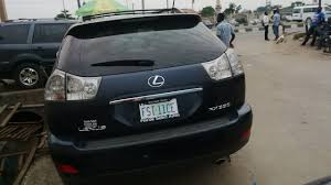lexus rx330 leather seat registered registered nigerian used lexus rx330 first body