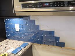 how to install glass tiles on kitchen backsplash how install glass tile backsplash armchair builder sheets along