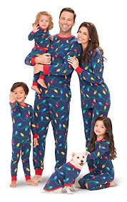 pajamagram lights matching family pajama set blue the