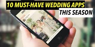 wedding apps 10 must wedding apps you can t afford to miss this season