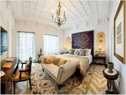 bedroom stunning moroccan interior design with off white fabric