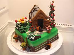41 best cakes gardening images on pinterest garden cakes