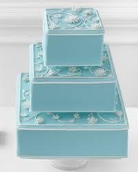 Tiffany Blue Flowers Tiffany Blue Wedding Cake With White Flowers A Wedding Cake Blog
