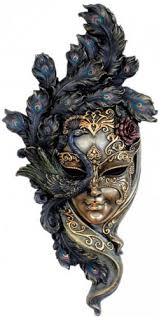 venetian mask venetian mask peacock wall plaque