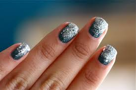 glitter nails three ways u2013 a cozy kitchen