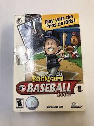 Play Backyard Baseball 2003 Backyard Baseball 2003 Windows Mac 2002 Ebay
