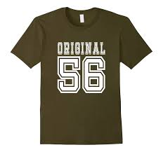 birthday gift 60 year 60th birthday gift 60 year present idea 1956 t shirt m goatstee