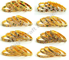 Indian Wedding Chura Bangles Bracelet Wedding Chura Gold Plated Bollywood Style