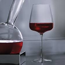 italesse red wine glasses mouth blown set of 2 the wine kit