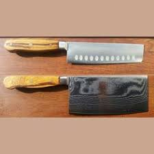 Used Kitchen Knives For Sale Vintage Custom Craft Stainless Steel Knives Handles Japan Set