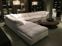 restoration hardware sectional living room sofa most comfortable