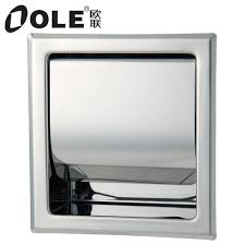 bed u0026 bath awesome recessed toilet paper holder with cover for