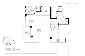 Oceana Key Biscayne Floor Plans by Asia Joelle Oiknine