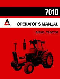 allis chalmers 7010 diesel tractor operator u0027s manual