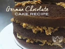 german chocolate cake recipe artisan cake company