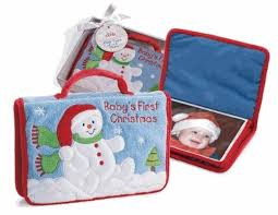 Baby Photo Albums Gund Baby U0027s First Christmas Photo Album