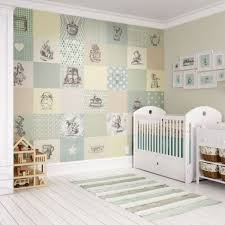 charming nursery wallpaper to accent walls trends4us com