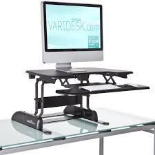 Convert Normal Desk To Standing Desk Varidesk New Product Launch Rt7