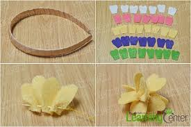 how to make baby headbands with flowers tutorial on flower baby headbands with buttons