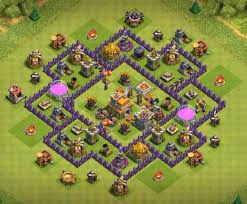 layout coc town hall level 7 top 30 best th7 base 2018 new war farming hybrid and trophy