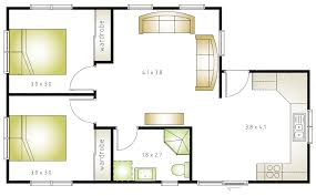 Floor Plan Flat by Granny Flat Layout Grannyflatsolutions