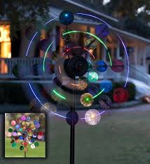 wind spinners with led lights solar sparkler wind spinner with colorful led lights wind spinners