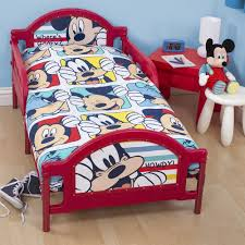 Mickey Mouse Toddler Duvet Set Bed Mickey Mouse Invitations Templates