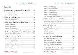 Happiness Worksheets Setting Smart Goals Templates Examples U0026 Worksheets