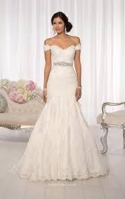 cap sleeves floor length subtly ivory lace mermaid wedding dress