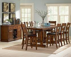 dining room table amusing counter high dining table ideas 5 piece