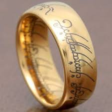 lord of the rings wedding band the one ring wedding band wedding corners