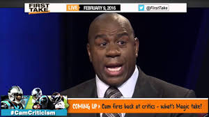 Magic Johnson Meme - espn first take magic johnson joins first take full youtube