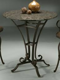 Granite Top Bistro Table Granite Table Designs Iron Bases And Tops Granite
