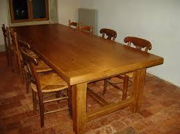 table cuisine chene meuble cuisine chene massif 7 table menuiserie de bourgogne